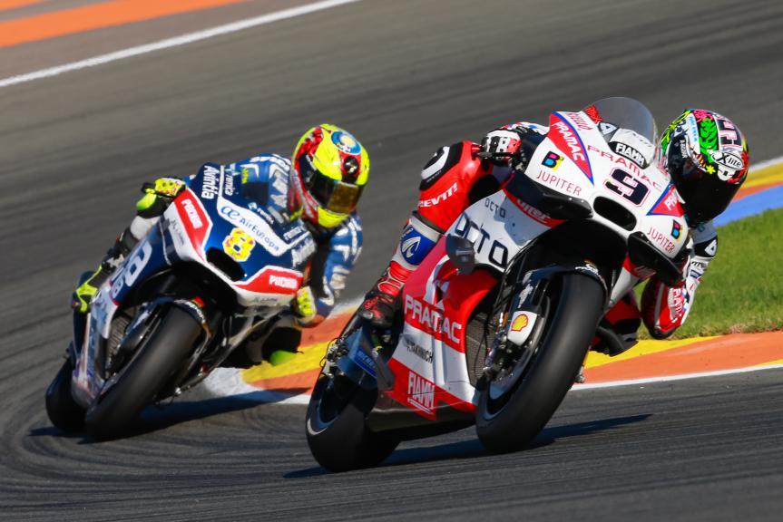 Hector Barbera, Danilo Petrucci, Gran Premio Motul de la Comunitat Valenciana