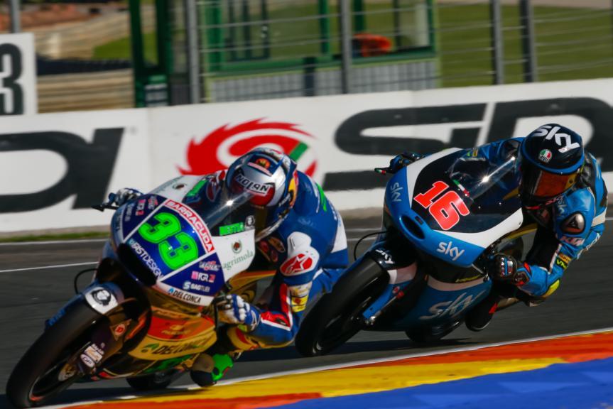 Andrea Migno, Enea Bastianini, Gran Premio Motul de la Comunitat Valenciana