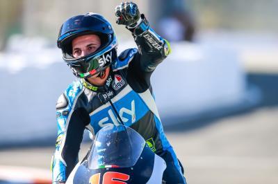 Migno sul podio, Bulega settimo in campionato