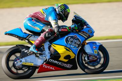 Morbidelli im Moto2™ Warm-Up vorn