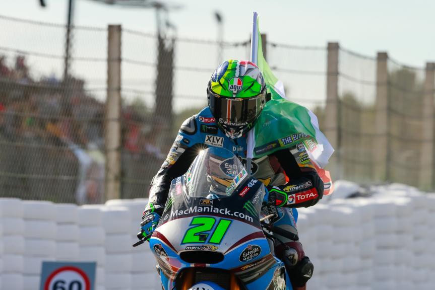 Franco Morbidelli, Estrella Galicia 0,0 Marc VDS, Gran Premio Motul de la Comunitat Valenciana