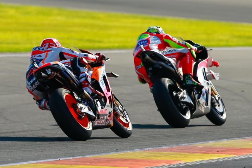 Andrea Iannone, Marc Marquez, Gran Premio Motul de la Comunitat Valenciana