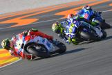 Andrea Iannone, Valentino Rossi, Gran Premio Motul de la Comunitat Valenciana