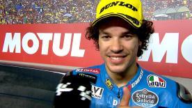 Il romano, protagonista di una seconda parte di stagione di alto livello, è sul podio valenzano ma quarto in campionato.