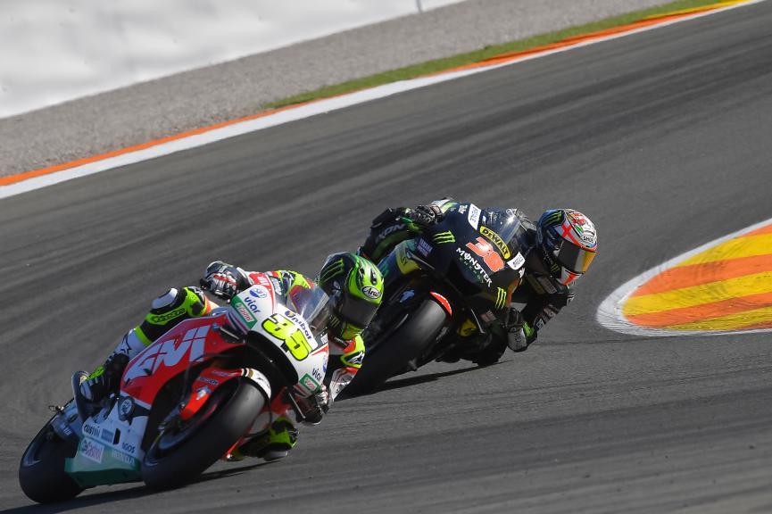 Cal Crutchlow, Bradley Smith, Gran Premio Motul de la Comunitat Valenciana