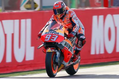 Warm-up MotoGP™ : Márquez en tête