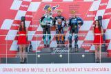 Brad Binder, Joan Mir, Andrea Migno, Gran Premio Motul de la Comunitat Valenciana
