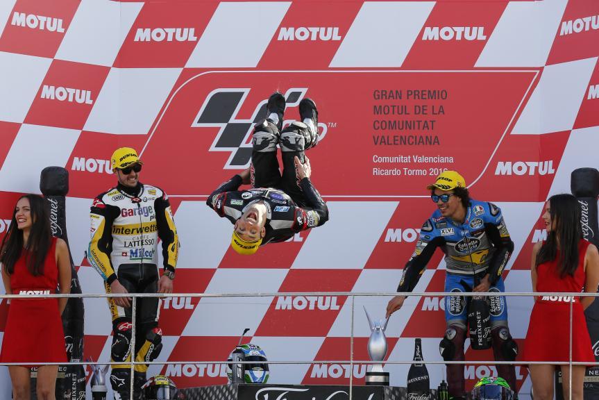 Johann Zarco, Thomas Luthi, Franco Morbidelli, Gran Premio Motul de la Comunitat Valenciana