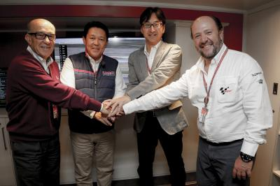Honda Motor signs five-year agreement for the MotoGP™ class