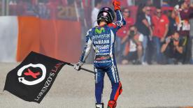 Relive Jorge Lorenzo's nine years with Yamaha - an era that saw the brilliant Majorcan win three MotoGP™ world titles
