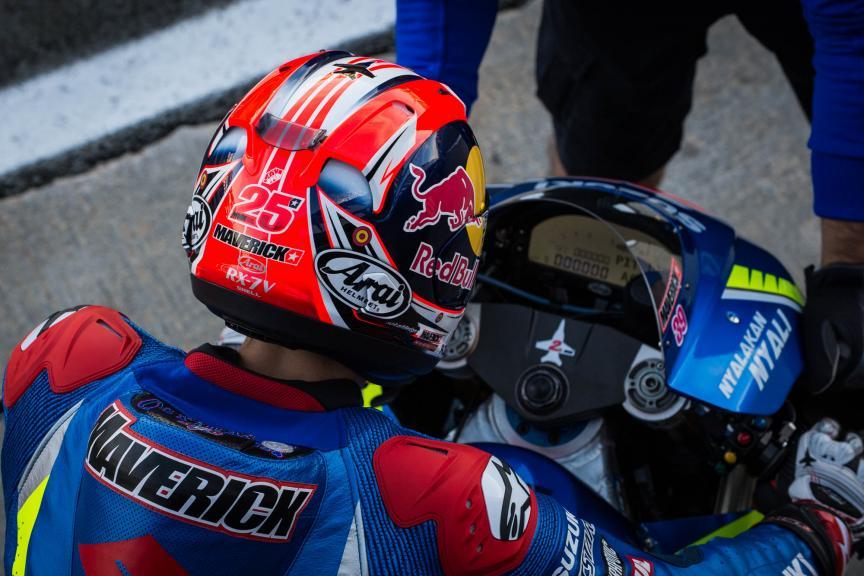 Maverick Viñales, Team SUZUKI ECSTAR, Gran Premio Motul de la Comunitat Valenciana © 2016 Scott Jones, PhotoGP