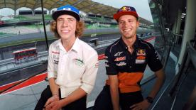 Go behind the scenes with Brad and Darryn Binder, filmed exclusively on GoPro™ cameras
