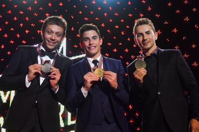 FIM・MotoGP・アワード~年間表彰式にシーズンの主役たちが集結