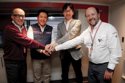 Honda Motor prolonge en MotoGP™ pour cinq ans
