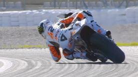 La sesión vespertina completa del primer día del test oficial en Valencia de MotoGP™.