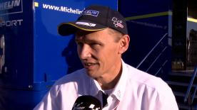 Michelin Racing's technical director Nicolas Goubert talks about tyre performance at the Valencia Test.