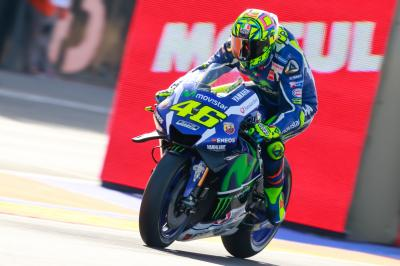 "Rossi on Valencia test: ""Quite positive"""