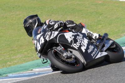 Nakagami domina el primer día de test en Jerez
