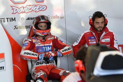 "Dovizioso: ""We're ahead with our planning"""