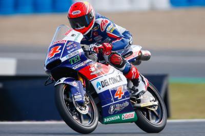 Moto3™ test: Di Giannantonio quickest on day two