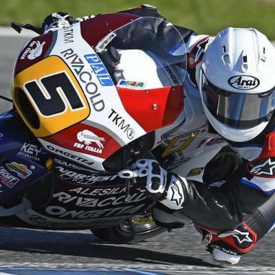 Fenati, el mejor tiempo de Moto3™ en Jerez