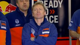 Mike Leitner, Team Manager de Red Bull KTM Factory Racing, explique la RC16 a besoin d'ajustements en vue de 2017 mais qu'ils y travaillent.