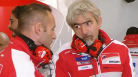 Ducati Corse General Manager Luigi Dall'Igna was satisfied with the first official test for both 2017 riders