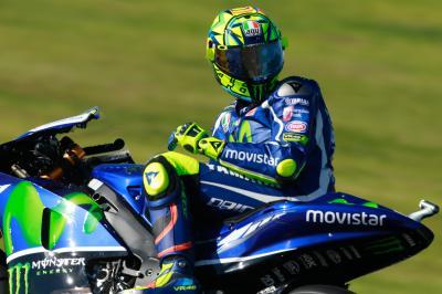 "Rossi: ""Ziemlich positiver Tag"""