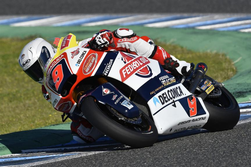 Jorge Navarro, Team Federal Oil Gresini Moto2