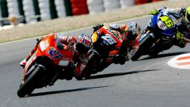 Relive all of the action from the 2007 Catalunya Grand Prix at Circuit de Barcelona-Catalunya.