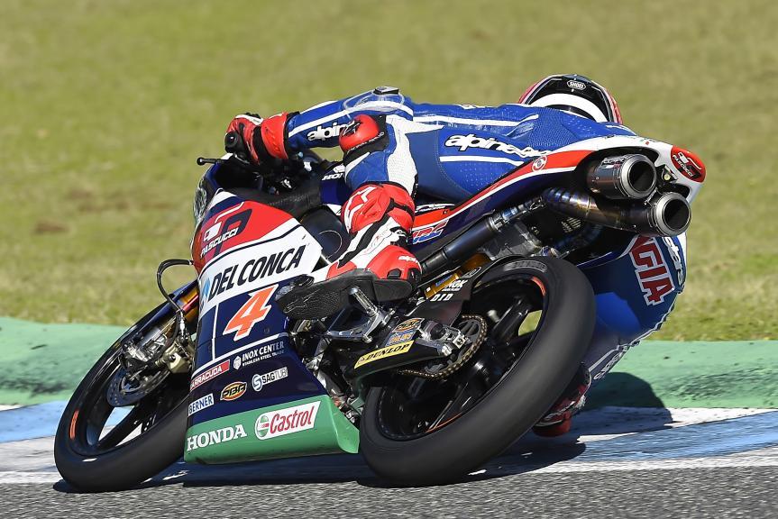 Fabio Di Giannantonio, Gresini Racing Moto3, Valencia, Private Test