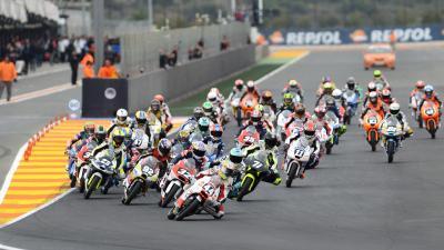 Résumé : FIM CEV Repsol Moto3 - Valence - Course 1