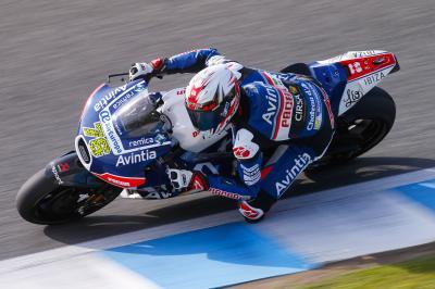 Baz conclut son année sur une note positive à Jerez