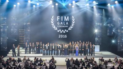 2016年度の年間表彰式、FIMガーラセレモニーが開催