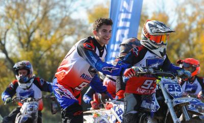 Márquez, anfitrión del 2º Allianz Junior Motor Camp
