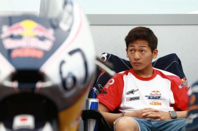 Toba et Atiratphuvapat chez Honda Team Asia en 2017