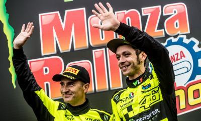 Rossi vence por quinta vez el Rally de Monza