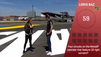 Trivia Challenge: Loris Baz al #FrenchGP