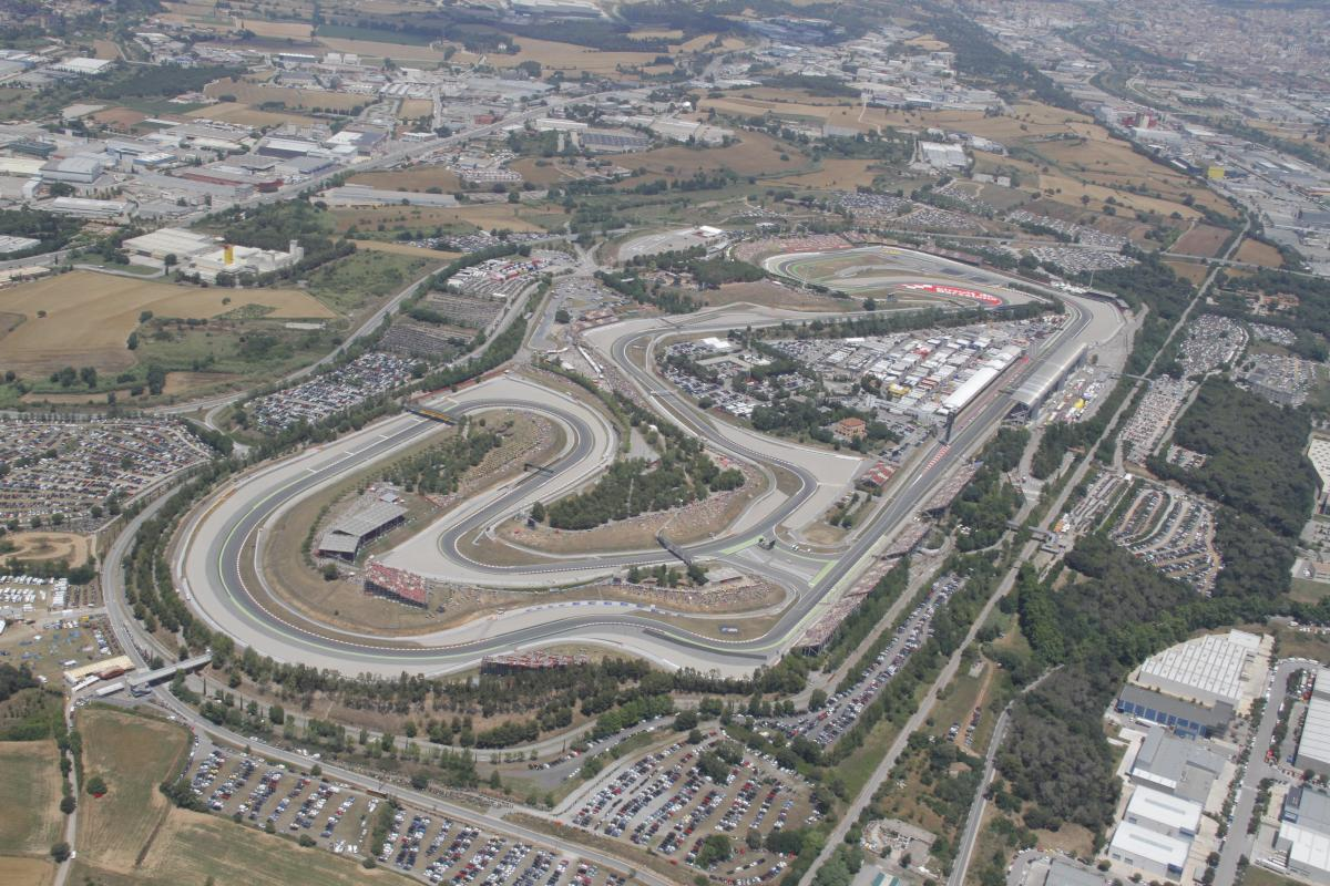 circuit de barcelona catalunya confirms layout modification motogp. Black Bedroom Furniture Sets. Home Design Ideas