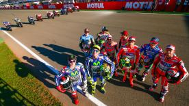 Vor dem MotoGP™ Saisonfinale 2016 in Valencia kannst du die unglaubliche Meisterschaft noch einmal erleben, in der es bisher 9 verschiedene Sieger gab.