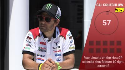 Trivia Challenge: Cal Crutchlow at the #CatalanGP