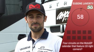 Trivia Challenge: Eugene Laverty at the #DutchGP