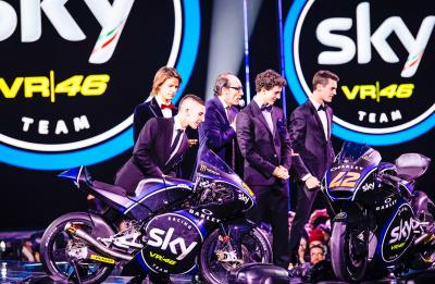 Le nuove vesti dello Sky Racing Team VR46