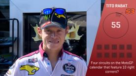 motogp.com gives each rider 60 seconds to get as many trivia questions right as they can - next up is Rabat