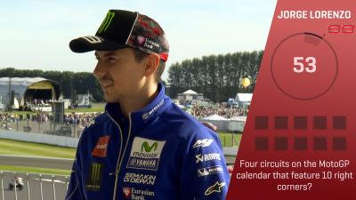 Trivia Challenge: Lorenzo at the #BritishGP
