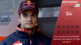 motogp.com gives each rider 60 seconds to get as many trivia questions right as they can - next up is Pedrosa