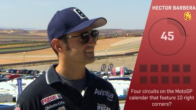 Trivia Challenge: Barbera at the #AragonGP