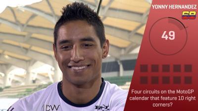 Trivia Challenge: Yonny Hernandez at the #MalaysianGP
