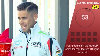 Trivia Challenge : Alvaro Bautista au #ValenciaGP