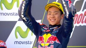 Much is expected of Japan's Ayumu Sasaki in his debut Moto3™ season after winning the both the Asia Talent Cup and Red Bull Rookies Cup.